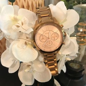 Fossil Watch- Justine Quartz in Rose Gold